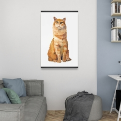 Magnetic 20 x 30 - Ginger cat