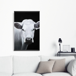 Magnetic 20 x 30 - White cow
