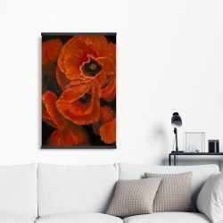 Magnetic 20 x 30 - Poppy bouquet