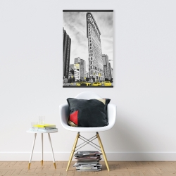 Magnetic 20 x 30 - Outline of flatiron building to new-york