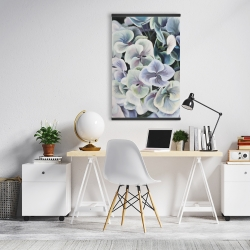 Magnetic 20 x 30 - Colorful hydrangea flowers