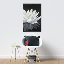 Magnetic 20 x 30 - Lotus flower with reflection