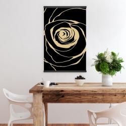 Magnetic 20 x 30 - Black rose