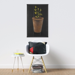 Magnetic 20 x 30 - Plant of marjolaine