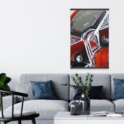 Magnetic 20 x 30 - Vintage red car dashboard