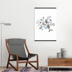 Magnetic 20 x 30 - Grayish bubbles