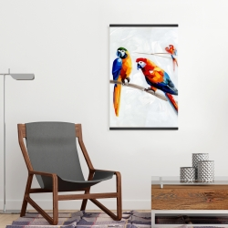 Magnetic 20 x 30 - Parrots on a branch