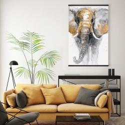 Magnetic 20 x 30 - Golden elephant