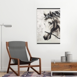 Magnetic 20 x 30 - Alpha the white horse