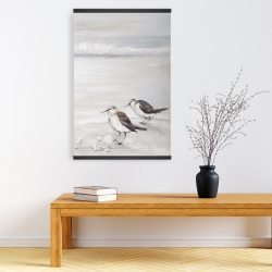 Magnetic 20 x 30 - Two sandpipiers birds