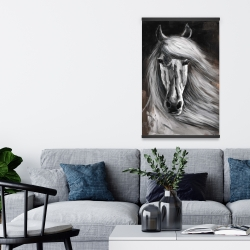 Magnetic 20 x 30 - White horse