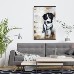 Magnetic 20 x 30 - Sitting dog