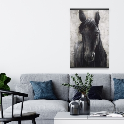 Magnetic 20 x 30 - Black horse