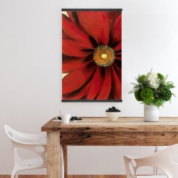 Magnetic 20 x 30 - Red daisy
