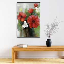 Magnetic 20 x 30 - Abstract wild flowers bundle