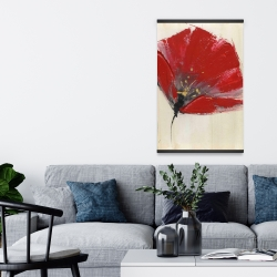 Magnetic 20 x 30 - Two red flowers