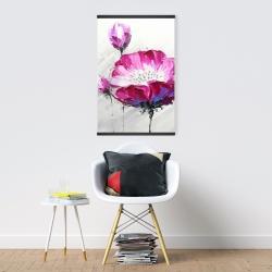 Magnetic 20 x 30 - Fuchsia wild flower