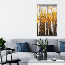 Magnetic 20 x 30 - Birches by sunny day