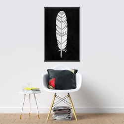 Magnetic 20 x 30 - Native american feather