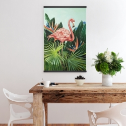 Magnetic 20 x 30 - Tropical flamingo