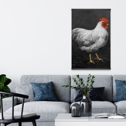 Magnetic 20 x 30 - Grey rooster 2