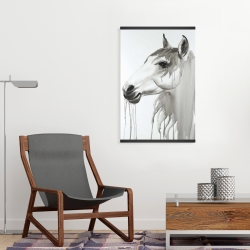 Magnetic 20 x 30 - Beautiful white horse