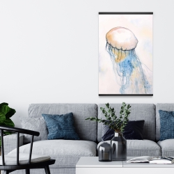 Magnetic 20 x 30 - Watercolor jellyfish