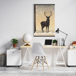 Magnetic 20 x 30 - Roe deer in winter
