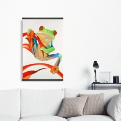 Magnetic 20 x 30 - Red-eyed frog