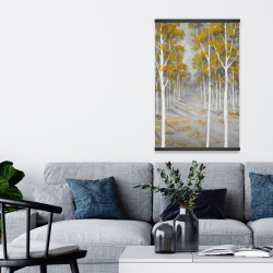 Magnetic 20 x 30 - Birch forest
