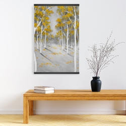 Magnetic 20 x 30 - Yellow birch forest