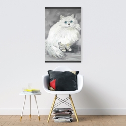 Magnetic 20 x 30 - Chinchilla persian cat