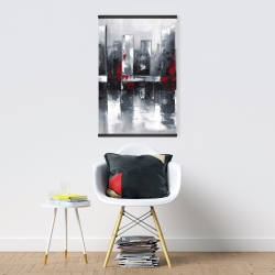 Magnetic 20 x 30 - Abstract cityscape