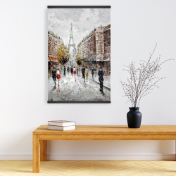 Magnetic 20 x 30 - Paris busy street