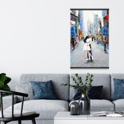 Magnetic 20 x 30 - Kiss of times square