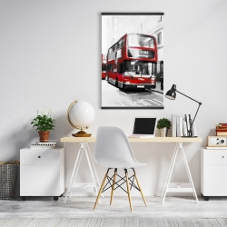 Magnetic 20 x 30 - Red bus londoner