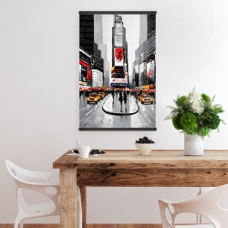 Magnetic 20 x 30 - New york city busy street