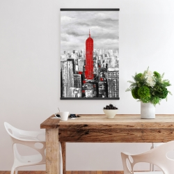 Magnetic 20 x 30 - Empire state building of new york