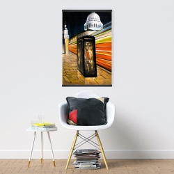 Magnetic 20 x 30 - Fast london bus
