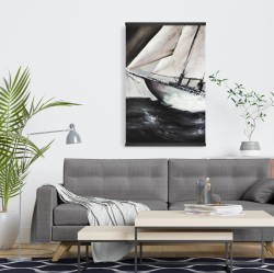 Magnetic 20 x 30 - Boat in a violent storm