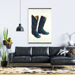 Magnetic 28 x 42 - Leather cowboy boots
