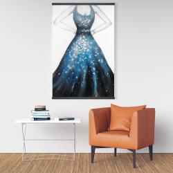 Magnetic 28 x 42 - Blue princess dress