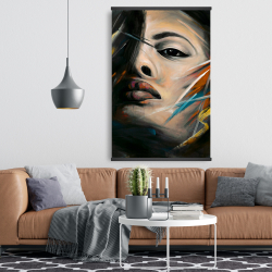 Magnetic 28 x 42 - Abstract woman portrait