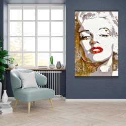 Magnetic 28 x 42 - Marilyn monroe with typography
