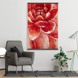 Magnetic 28 x 42 - Red chrysanthemum