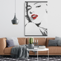 Magnetic 28 x 42 - Marilyn monroe outline style