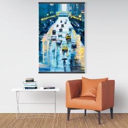 Magnetic 28 x 42 - Rainy streets of new york