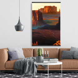 Magnetic 28 x 42 - Monument valley tribal park in arizona