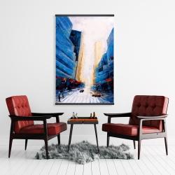 Magnetic 28 x 42 - Blue asymmetrical street