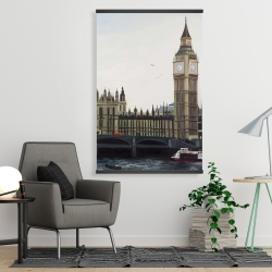 Magnetic 28 x 42 - Big ben clock elizabeth tower in london